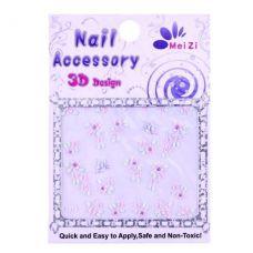 Наклейки для нігтів, 1 шт, 3D NAIL ACCESSORY