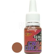 Фарба для аерографії на нігтях Wicked brown (коричнева), 10 мл