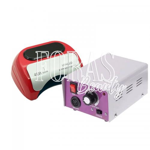 <b>Набор</b> лампа CCFL+<b>LED</b> Professional 48W + фрезер Lina ...