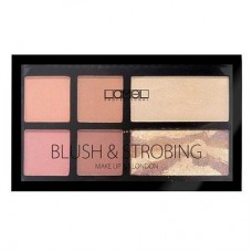 Набор для макияжа Lamel Professional Blush&Strobing,16г