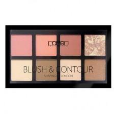 Набор для макияжа Lamel Professional Blush&Contour, 13г