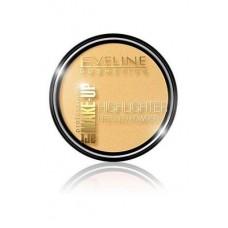 Рассветляющая пудра для лица и тела Eveline Art Professional Make-Up Highlighter тон 55 Gold, 12