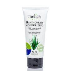 Увлажняющий крем для рук Melica с маслом зародышей пшеницы и экстрактом алоэ, 100 мл