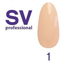 Гель-лак SV Professional 8ml №1