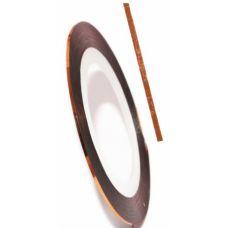 Самоклеящаяся лента для дизайна ногтей Nail Strips Gold