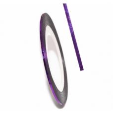 Самоклеящаяся лента для дизайна ногтей Nail Strips Violet