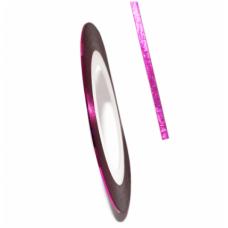 Самоклеящаяся лента для дизайна ногтей  Nail Strips Rose Red