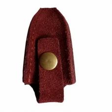 Чехол для профессиональных кусачек на кнопке (кожа)