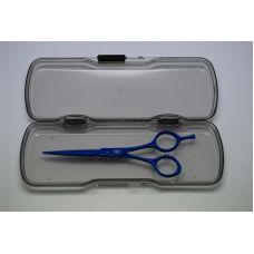 Ножницы для стрижки YRE 5,5 голубые  NJ-11