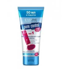 Гель для умывания+скраб+маска 3в1 Eveline Cosmetics Pure Control