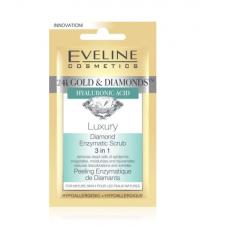 Бриллиантовый энзимный пилинг 3в1 Eveline Cosmetics