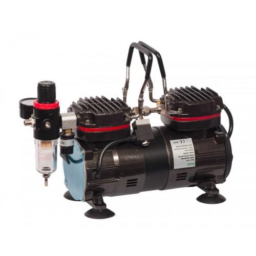 Компрессор для аэрографа 35-40л/мин,двухцилиндровый