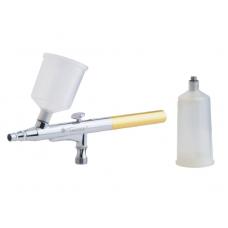 Аэрограф профессиональный с пластиковой ёмкостью, 0,4 мм    TG136-1