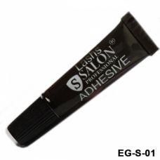 Клей для накладных ресниц чёрный SALON EG-S-01
