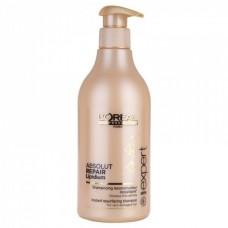 Loreal Absolut Repair Lipidium Shampoo восстанавливающий шампунь для поврежденных волос, 500 мл