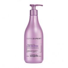 Loreal Liss Unlimited Shampoo разглаживающий шампунь, 500 мл