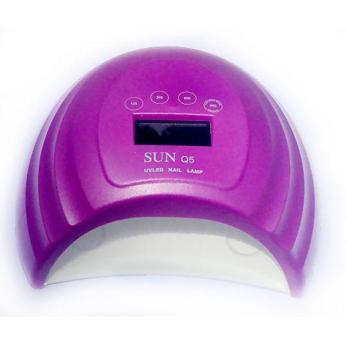 UV+LED лампа для маникюра SUN Q5 36W 48W black