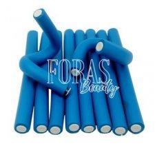 Бигуди-папильотки синего цвета 235*18мм 10 шт
