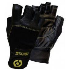 Перчатки Leather Yellow Style Scitec Nutrition