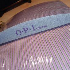 Пилочка для ногтей 100/180 OPI лодочка