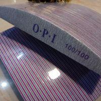 Пилочка для ногтей 100/100 OPI лодочка