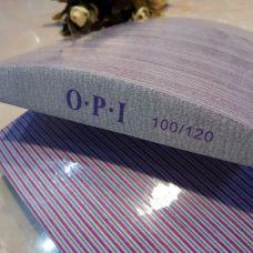 Пилочка для ногтей OPI 100/120 лодочка 50шт
