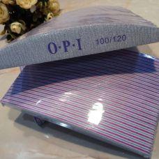 Пилочка для ногтей 100/120 OPI лодочка
