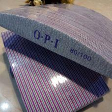 Пилочка для ногтей OPI 80/100 лодочка