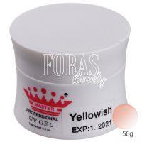 Гель для наращивания Master Professional UV Gel Yellowish  56g