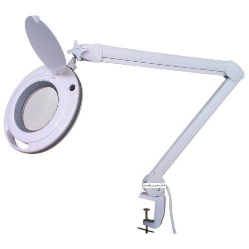 Лампа-лупа 6017 LED 3 диоптрии, new