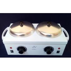 Баночний воскоплав подвійний Double Wax Warmer, для розігріву воску