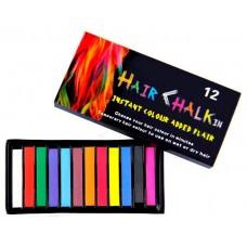 Набір крейди для волосся Hair chalk 12 шт.