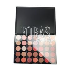 Палетка теней Morphe (35 color matte nature glow eyeshadow palette)