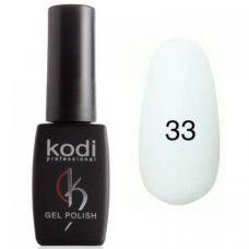 Гель-лак Kodi Professional №33 (плотный ярко-белый, эмаль) 8 мл.