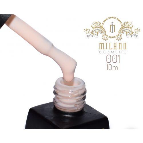 Гель лак MILANO  10ml № 001