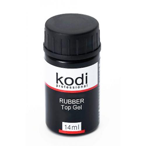 Kodi Professional, Rubber Top Gel - каучуковое верхнее покрытие 14ml