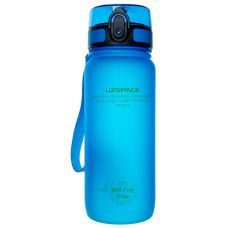 Пляшка для води UZspace Blue (650 мл.) - синя
