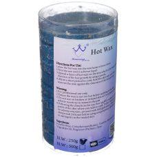 Воск для депиляции в таблетках Hot Wax, 250 г Синий