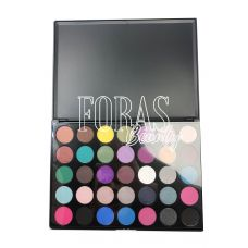 Палетка теней Morphe Smokey Eye Shadow 3D (35 color matte nature glow eyeshadow palette)