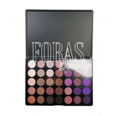 Палетка теней Morphe Brushes (35 color matte nature glow eyeshadow palette)