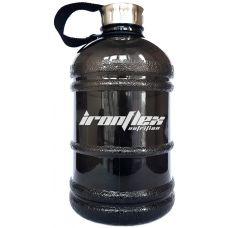Пляшка для води Gallon Hydrator IronFlex Black (1000 мл.) - Чорна