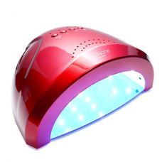LED+UV лампа для маникюра SUN One 48W Красная