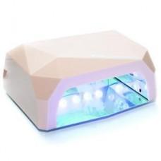 LED+CCFL Лампа для маникюра Diamond 36W Шампань