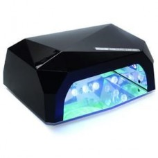 Лампа для маникюра LED+CCFL  Diamond 36W Черная