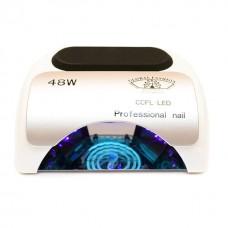 Лампа для маникюра CCFL+LED  Professional 48W Белая