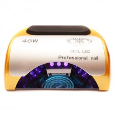 Лампа для маникюра CCFL+LED  Professional 48W Золотая