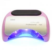 CCFL+LED Лампа для маникюра Professional 48W  Нежно-розовая